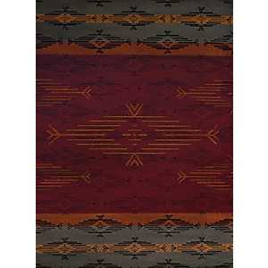 Multicolor Geometric Stripe Runner