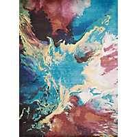 Multicolor Marble Runner