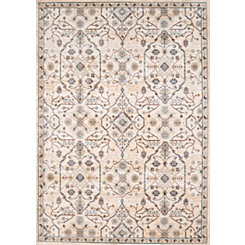 Ivory Archer Floral Area Rug, 8x11