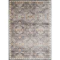 Gray Archer Floral Runner