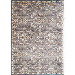 Gray Archer Floral Area Rug, 5x8