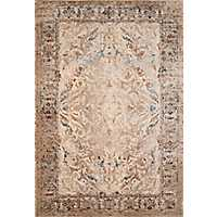 Tan January Area Rug, 5x7