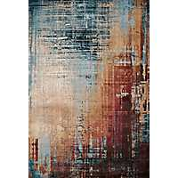 Multicolor Weathered Area Rug, 5x7