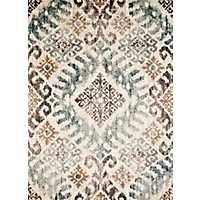 Brown Vandiver Ikat Area Rug, 8x11