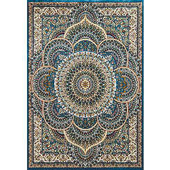 Blue Anderson Jewel Area Rug, 5x7