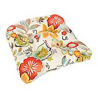 Alatriste Floral Outdoor Seat Cushion