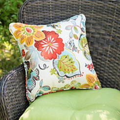 Alatriste Floral Outdoor Pillow