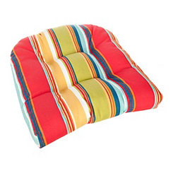 Westport Stripe Outdoor Seat Cushion
