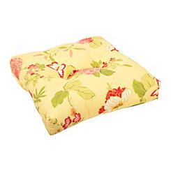 Risa Lemonade Ottoman Cushion