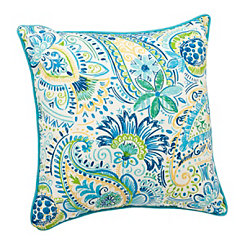Baltic Blue Outdoor Pillow