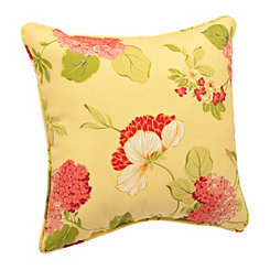 Risa Lemonade Floral Pillow