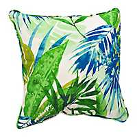 Soleil Blue and Green Pillow