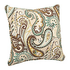 Tamara Paisley Outdoor Pillow