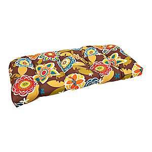 Chocolate Annie Settee Cushion