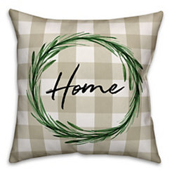 Tan Home Pillow