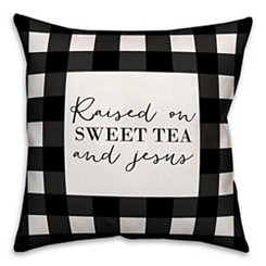 Black Sweet Tea Pillow