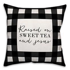Black Sweet Tea Pillow