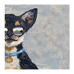 Chihuahua with Sunglasses Canvas Art Print