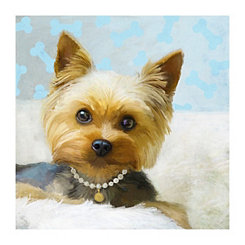 Lap Dog Luxury Canvas Art Print