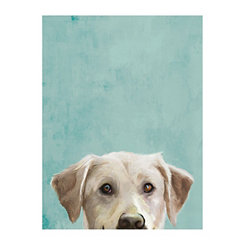 Labradorable Canvas Art Print