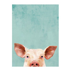 Piggie Pie Canvas Art Print