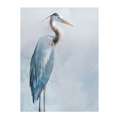 Great Heron Canvas Art Print