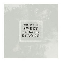 Our Tea is Sweet Canvas Art Print