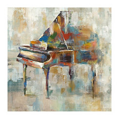 Grand Symphony Canvas Art Print