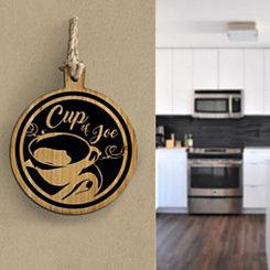 Cup of Joe Hanging Wall Plaque