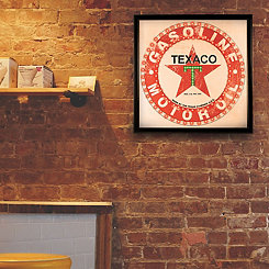 Vintage Framed Texaco LED Wall Plaque