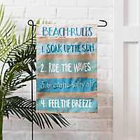 Beach Rules Flag Set