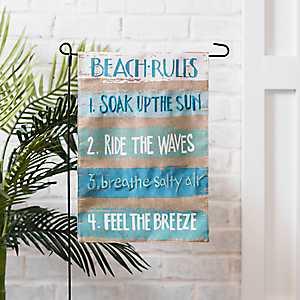 Beach Rules Flag Set