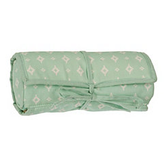 Mint Green Jewelry Roll
