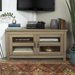 Driftwood Corner Media Cabinet