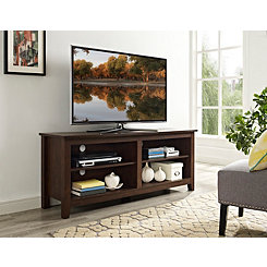 Brown Wood Media Console, 58 in.
