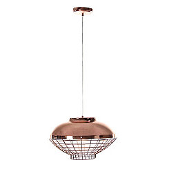 Copper Canopy Metal Pendant Lamp