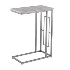 Cara Wood and Metal C-Table