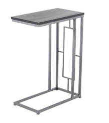 Rae Wood and Metal C-Table