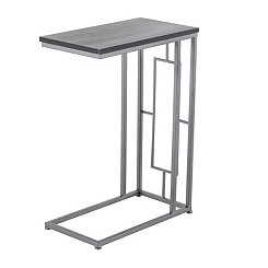 Rae Wood and Metal C-Table