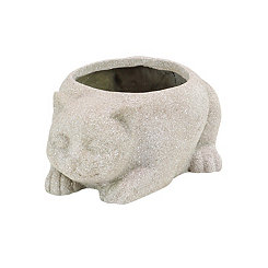 Gray Cat Planter