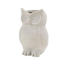 Gray Owl Planter
