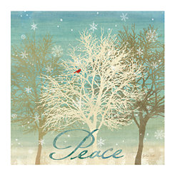 Holiday Trees Canvas Art Prints, Set of 2