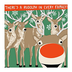 Rudolph Canvas Art Print