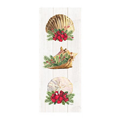 Christmas Shells Canvas Art Print