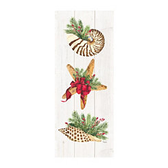 Christmas Starfish Canvas Art Print