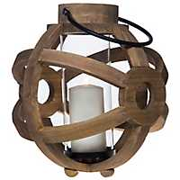 Spherical Wooden Lantern
