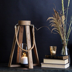 Triangular Rope Handle Lantern