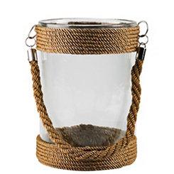Short St. Bart Glass Lantern