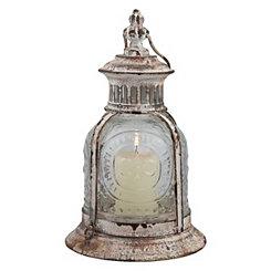 Vintage Cafe Lantern, 10 in.