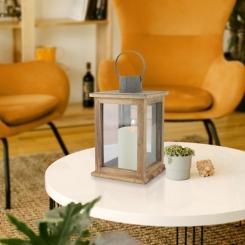 Vintage Wood Lantern, 11 in.